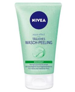 Sữa rửa mặt NIVEA Tägliches Wasch-Peeling kèm tẩy da chết, 150 ml