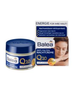 Kem dưỡng da Balea Q10 Anti-Falten Natchcreme chống lão hóa giảm nếp nhăn - kem đêm, 50ml