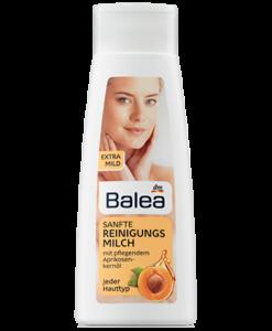 Sữa rửa mặt tẩy trang Balea Reinigungsmilch Sanft, 200 ml