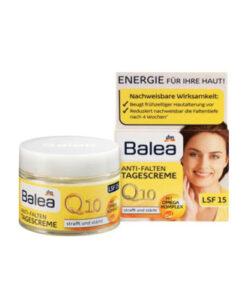Kem dưỡng da Balea Q10 Anti-Falten Tagescreme chống lão hóa giảm nếp nhăn - kem ngày, 50 ml