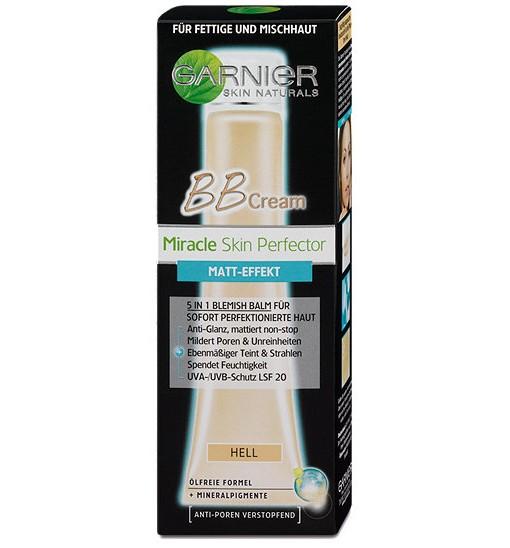 Kem nền Garnier BB Cream Matt-Effekt – Hell cho da dầu, da hỗn hợp, 40 ml