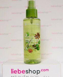Xịt khoáng Yves Rocher Apfel-Sternanis - hương táo xanh và hoa hồi, 100ml - Hàng xách tay Đức