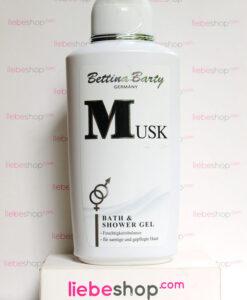 Sữa tắm Bettina Barty Musk Bath & Shower Gel hương nước hoa - dưỡng ẩm & sáng mịn da, 500ml