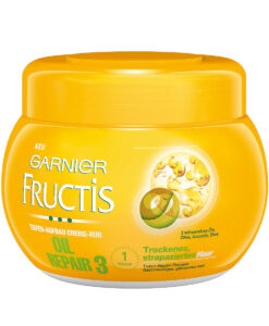 Kem ủ tóc GARNIER Fructis Oil Repair 3 phục hồi tóc khô và hư tổn, 300 ml