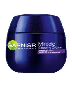 Kem dưỡng da Garnier Miracle Sleeping Cream chống lão hóa ban đêm, 50 ml