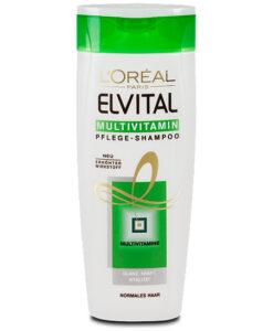 Dầu gội Loreal Elvital Multivitamin Pflege-Shampoo bổ sung vitamin, 250ml