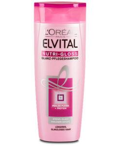 Dầu gội Loreal Elvital Nutri-Gloss Glanz Pflege-Shampoo làm bóng tóc, 250ml