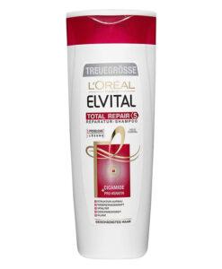 Dầu gội Loreal Elvital Total Repair 5 Reparatur Shampoo phục hồi tóc, 250 ml