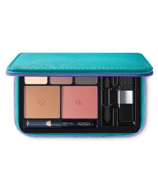 Set trang điểm KIKO Take It All Beauty Kit 01 Natural Tones