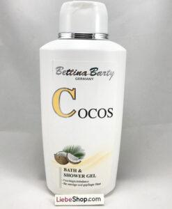 Sữa tắm Bettina Barty Cocos Bath & Shower Gel hương dừa, 500ml
