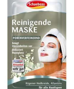 Mặt nạ Schaebens Reinigende Maske làm sạch da se lỗ chân lông, 2x5ml