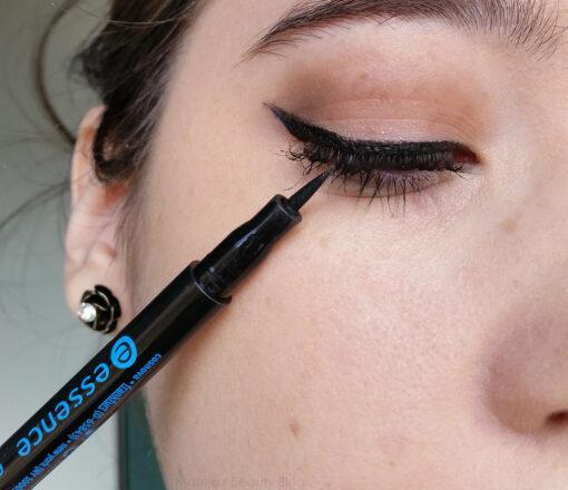 Bút kẻ mắt Essence Eyeliner Pen Waterproof 01, 1 ml - review