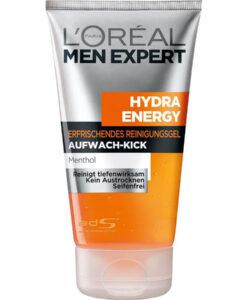 Sữa rửa mặt cho nam L'Oréal Men Expert Hydra Energy Wake-up Effect, 150 ml