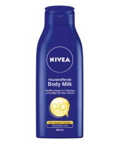 Sữa dưỡng thể NIVEA Q10 Plus Hautstraffende Body Milk cho da khô, 400ml - Hàng xách tay Đức