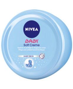 Kem dưỡng da Nivea Baby Soft Creme cho trẻ sơ sinh và trẻ em, 200ml