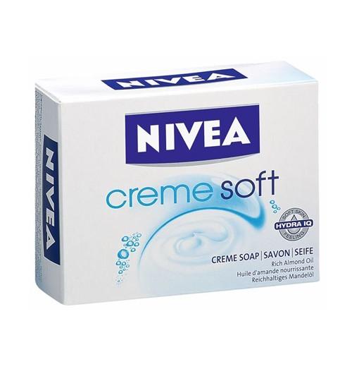 Xà phòng Nivea Creme Soft dưỡng da mềm mịn, 100g