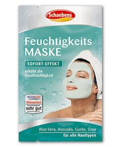 Mặt nạ Schaebens Feuchtigkeits Maske dưỡng ẩm da, 2x5ml