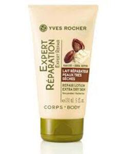 Sữa dưỡng thể Yves Rocher Experte Repair-Pflege Karite, 150ml - cho da RẤT KHÔ