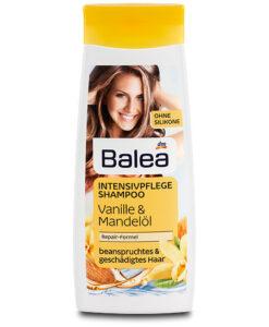 Dầu gội Balea Shampoo Intensivpflege phục hồi tóc hư tổn, 300 ml