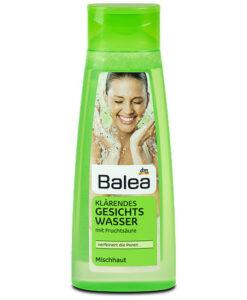 Nước hoa hồng Balea Klärendes Gesichtswasser dành cho da hỗn hợp, 200ml - Hàng xách tay Đức