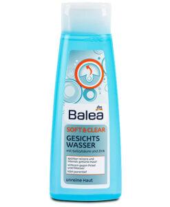 Nước hoa hồng Balea Gesichtswasser Soft & Clear dành cho da nhờn mụn, 200ml