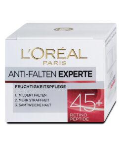 Kem dưỡng da L'Oréal Paris Anti-Falten Experte 45+ làm mịn và săn chắc da, 50ml