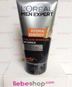 Sữa rửa mặt cho nam L'Oréal Men Expert Hydra Energy Xtreme cho da dầu mụn, 150 ml