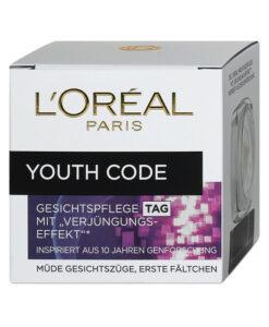 Kem dưỡng da L'Oréal Paris Youth Code Gesichtspflege ban ngày trẻ hóa làn da, 50 ml