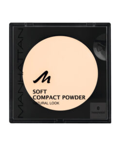 Phấn phủ Manhattan Soft Compact Powder Transparent 00, 9 g