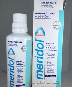 Nước súc miệng meridol trị viêm nướu, chảy máu chân răng, 400ml