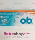 Băng vệ sinh Tampon o.b. Pro Comfort Super, 16 cái – hàng xách tay Đức