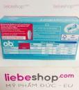 Băng vệ sinh Tampon o.b. Pro Comfort Mini, 16 cái – Hàng xách tay Đức