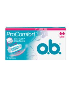 Băng vệ sinh Tampon o.b. Pro Comfort Mini, 16 cái