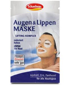 Mặt nạ Schaebens Augen & Lippen Maske cho vùng mắt và môi, 4x1,5ml