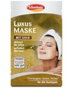 Mặt nạ Schaebens Luxus Maske tinh chất vàng, 2x5ml