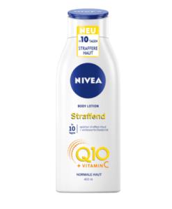 Sữa dưỡng thể NIVEA Q10 Plus Hautstraffende Body Lotion cho da thường, 400ml - Hàng xách tay Đức