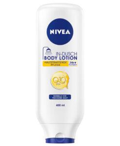 Kem xả dưỡng thể NIVEA In-Dusch Body Lotion Q10 cho da thường, 400ml