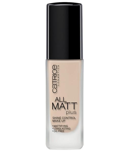 Kem nền Catrice All Matt Plus Shine Control Make Up – 010 Light Beige kiểm soát dầu, 30ml