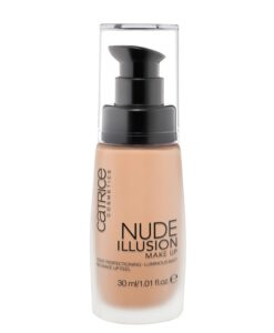 Kem nền Catrice Nude illusion Make Up - 010 Nude Ivory, 30ml