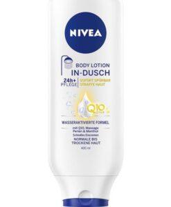 Kem xả dưỡng thể NIVEA In-Dusch Body Lotion Q10