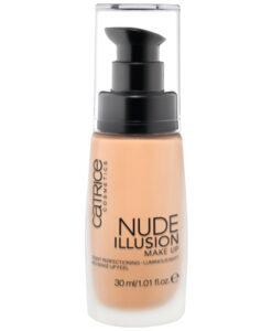 Kem nền Catrice Nude illusion Make Up 020 - Rose Vanilla, 30ml