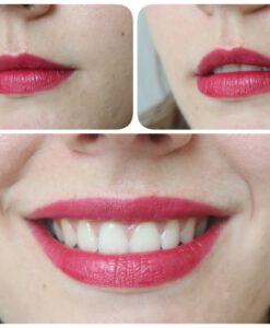 Son KIKO Velvet Passion Matte Lipstick 313 Sangria Swatch