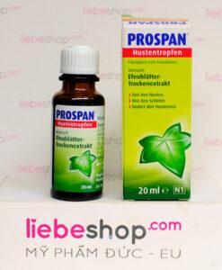 Tinh chất Prospan Hustentropfen trị ho, 20ml - Hàng xách tay Đức