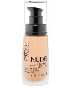 Kem nền Catrice Nude illusion Make Up 015 - Nude Vanilla, 30ml
