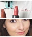 Son KIKO Velvet Passion Matte Lipstick 303 Rose – Hồng nude