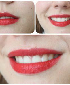 Son KIKO Velvet Passion Matte Lipstick 311 Poppy Red Swatch