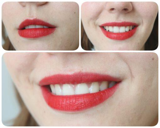 Son KIKO Velvet Passion Matte Lipstick 311 Poppy Red Swatch