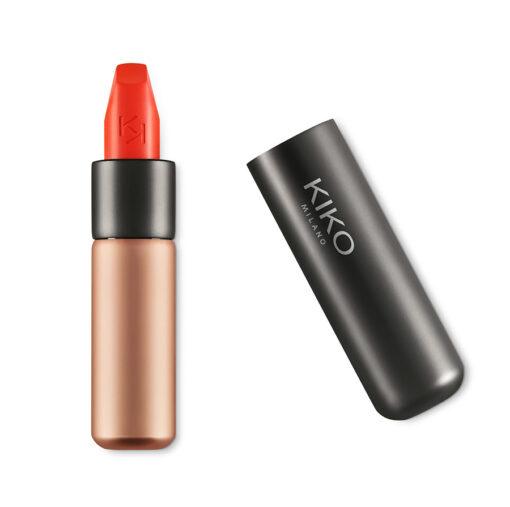 Son KIKO Velvet Passion Matte Lipstick 309 Tulip Red - Đỏ cam