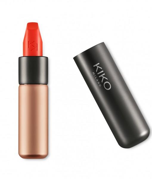 Son KIKO Velvet Passion Matte Lipstick 309 Tulip Red – Đỏ cam