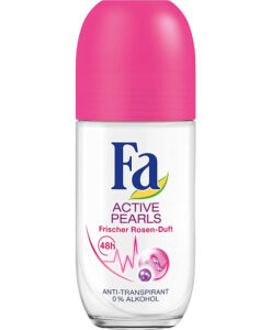 Lăn khử mùi Fa Active Pearls Deo Roll-on frischer Rosen-Duft, 50 ml